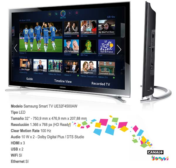 Samsung Smart TV 32F4500
