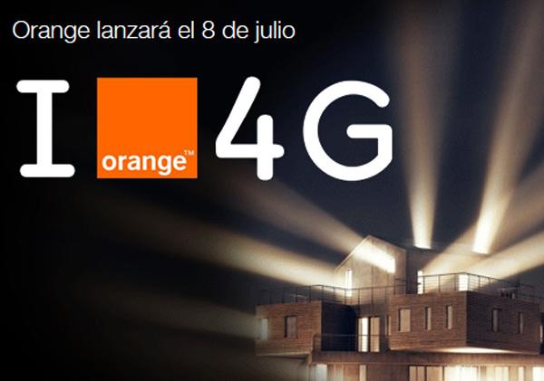 Orange anuncio 4G
