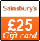 Online exclusive: £25 Sainsbury's Gift card