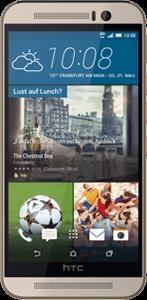 HTC One M9 silver