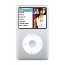 Apple iPod Classic 160GB Silver - 6th Generati